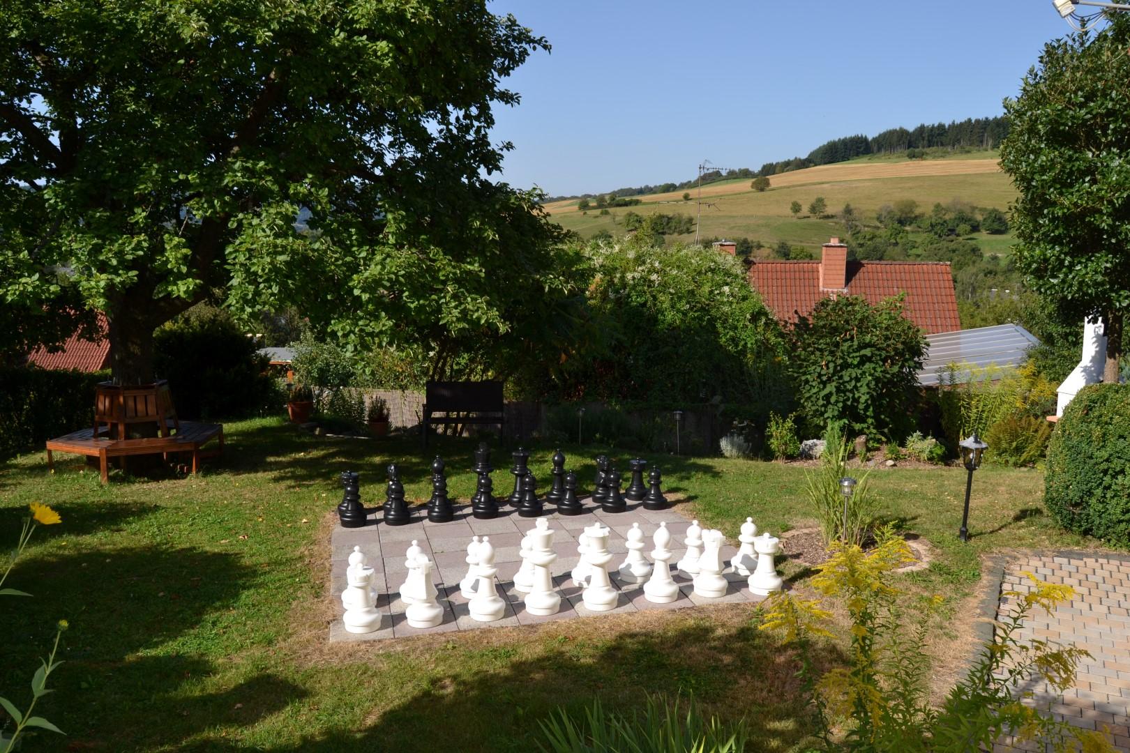 Haus Gartenpanorama